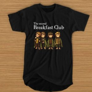 Hobbit The Second Breakfast Club Tshirt