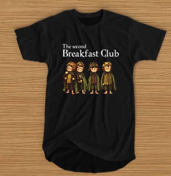 Hobbit The Second Breakfast Club Tshirt