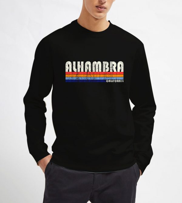 Alhambra-California-Sweatshirt-Unisex-Adult-Size-S-3XL