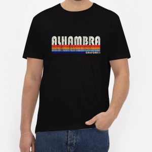 Alhambra-California-T-Shirt-For-Women-And-Men-S-3XL