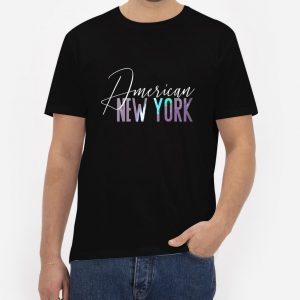 American-New-York-T-Shirt-For-Women-And-Men-S-3XL