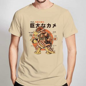 Bowserzilla-T-Shirt-For-Women-And-Men-S-3XL
