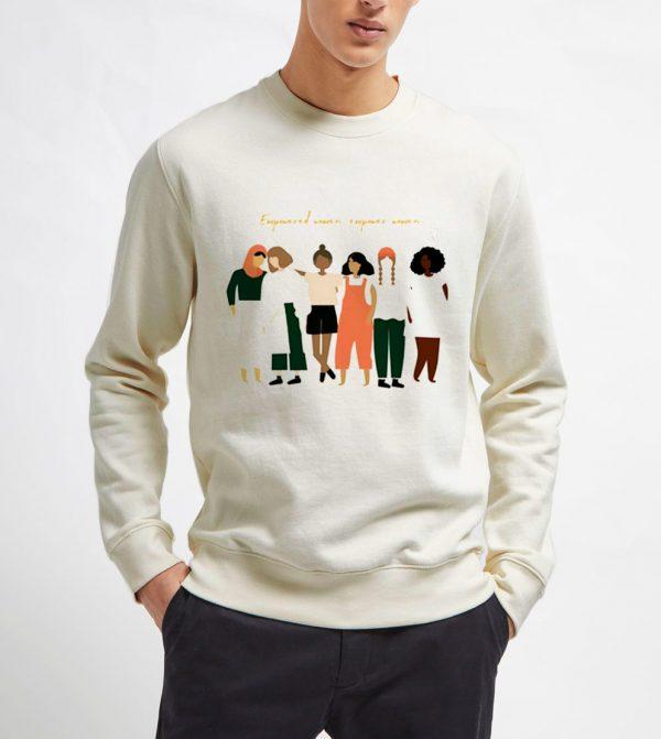 Empowered-Women-Sweatshirt-Unisex-Adult-Size-S-3XL