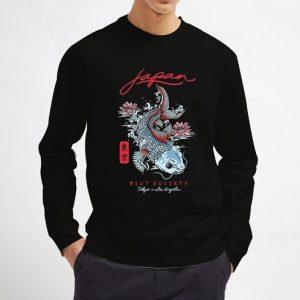 Japan-Koi-Lotus-Sweatshirt-Unisex-Adult-Size-S-3XL