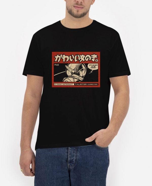 Kawaii-Astronaut-T-Shirt-For-Women-And-Men-S-3XL