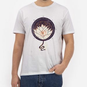 Lotus-T-Shirt-For-Women-And-Men-S-3XL