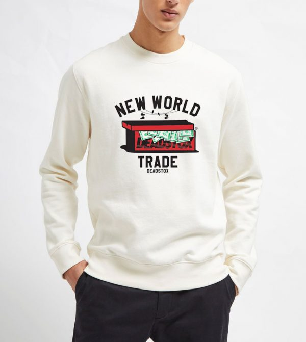 New-World-Trade-Deadstox-Sweatshirt-Unisex-Adult-Size-S-3XL