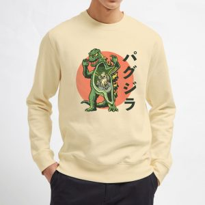 Pugzilla-Cream-Sweatshirt-Unisex-Adult-Size-S-3XL