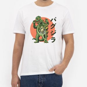 Pugzilla-T-Shirt-For-Women-And-Men-S-3XL