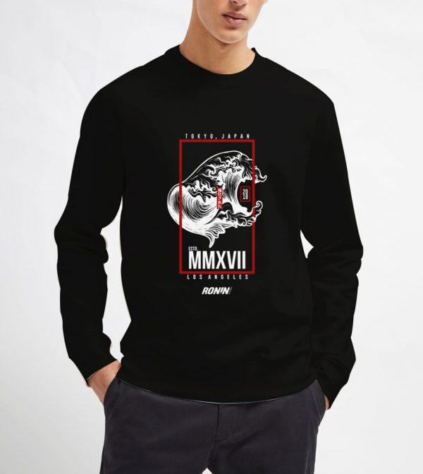 Roninsutairu-Sweatshirt-Unisex-Adult-Size-S-3XL