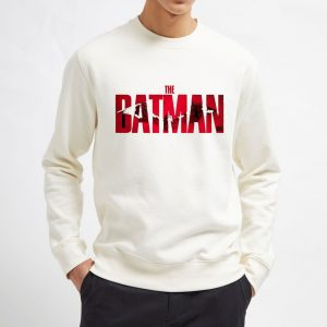 The-Batman-White-Sweatshirt-Unisex-Adult-Size-S-3XL