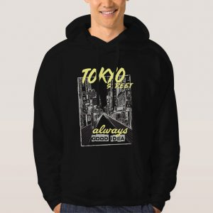 Tokyo-City-Street-Hoodie-Unisex-Adult-Size-S-3XL