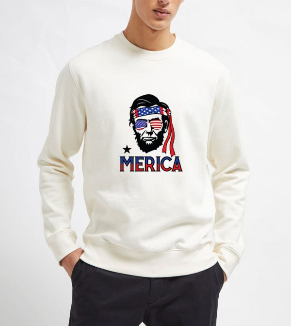 Abraham-Lincoln-Merica-Sweatshirt