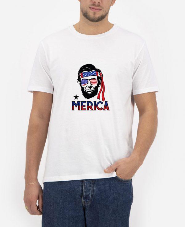 Abraham-Lincoln-Merica-T-Shirt