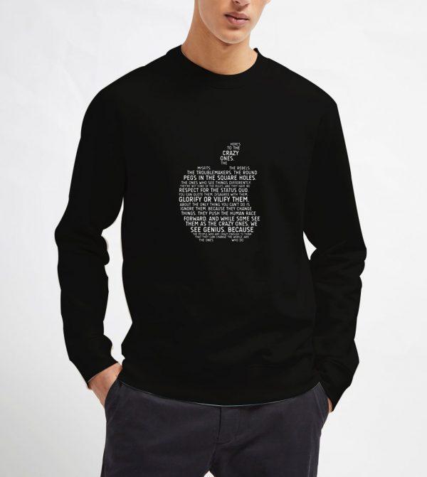 Apple-Typography-Sweatshirt-Unisex-Adult-Size-S-3XL