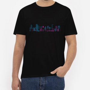 City-Lights-T-Shirt-For-Women-And-Men-S-3XL