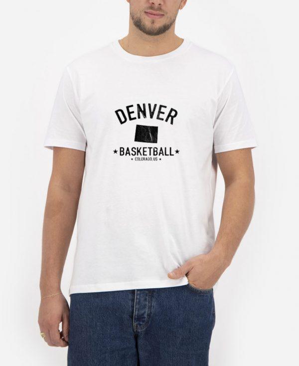 Denver-Rustic-Basketball-T-Shirt