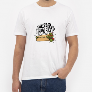 Fueled-By-Shawarma-T-Shirt