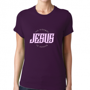 Jesus-Highway-To-Heaven-T-Shirt