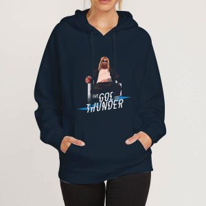 The-God-Of-Thunder-Navy-Hoodie