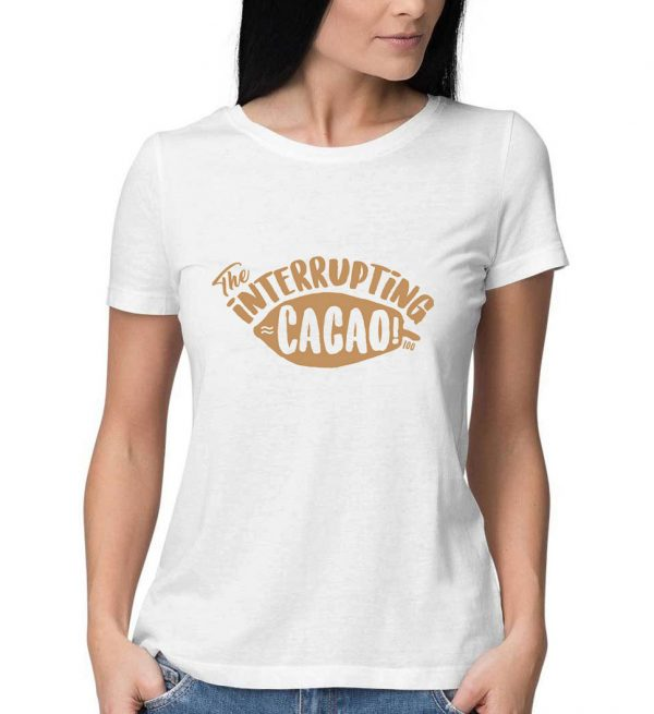 The-Interrupting-Cacao-White-T-Shirt-For-Women-And-Men-S-3XL