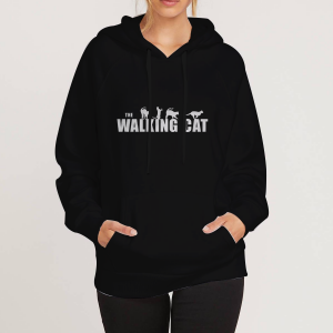 The-Walking-Cat-Black-Hoodie