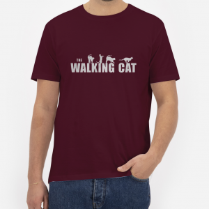 The-Walking-Cat-T-Shirt