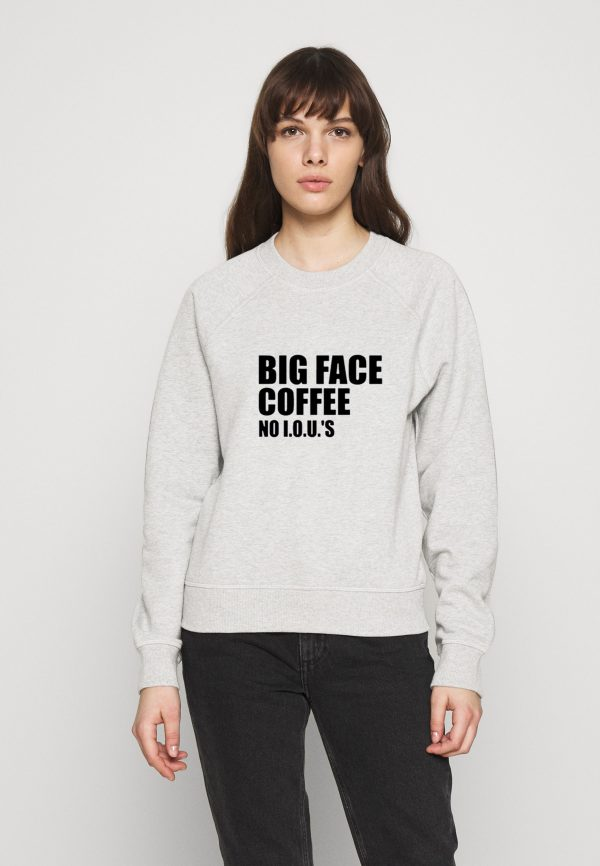 Big-Face-Coffee-White-Sweatshirt