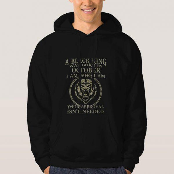Black-King-Was-Born-in-October-Hoodie