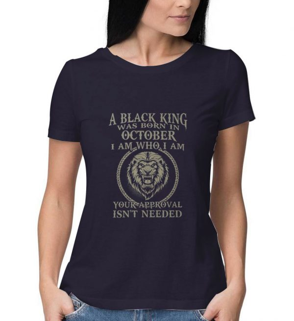 Black-King-Was-Born-in-October-Purple-T-Shirt