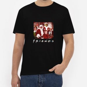 Christmas-Movies-Friends-TV-Show-T-Shirt