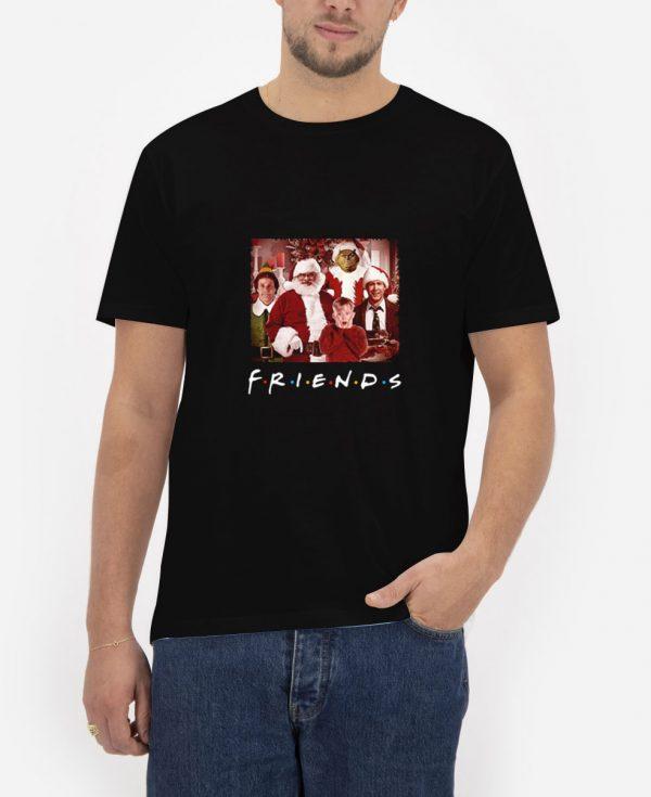 Christmas-Movies-Friends-TV-Show-T-Shirt
