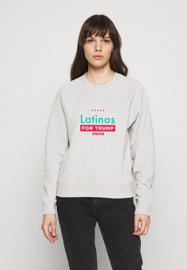 Latinos-For-Trump-White-Sweatshirt