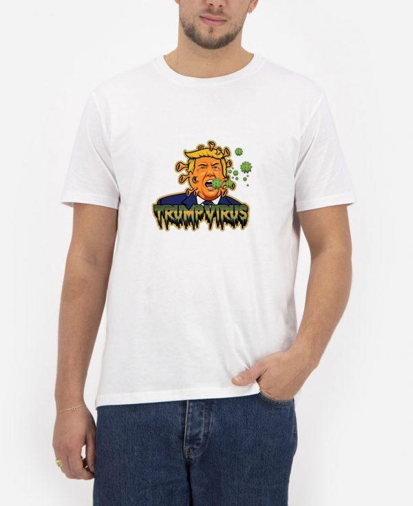 Trump-Virus-White-T-Shirt